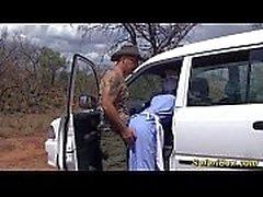 Gerçek afrika safari seks gezisi