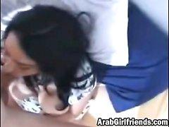 Novia Árabe Punto De Vista mamada perrito de la cogida