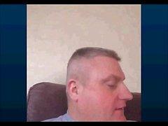 Perfetti Papà wanking webcam in