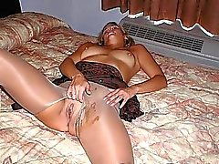 Jizz on Hot Clothed GFs!