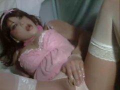 kigurumi doll masturbating