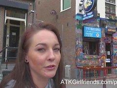 Durante la tua vacanza Amsterdam a , vi darà un creampie PDV Ashley Pietra di