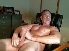 bisexuell Streicheln Vater seinen Schwanz