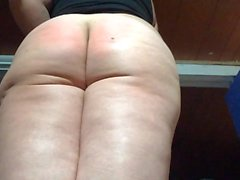 sunday spank in two parts