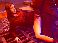 HMV SFM 3d Ellie Quickie Hentai Music Video Compilation