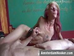 Niederländische Prostituierten statt klebrige Gesicht