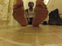 Anbetung Meine Schwitzen Füße