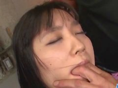 Top rated porn session in threesome with Chiharu