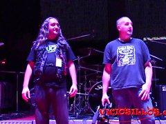Nerea Falco y Gabriela Flores kahrolası makine ve el SEM 2016
