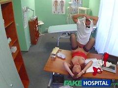FakeHospital tohtorin ei paranna seksikäs potilaan ja raskaalla annoksen sukupuolen
