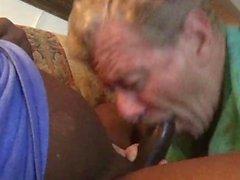 Porn Slut Neal Blosmen Sucks Off a Beautiful Big Black Cock, Eats Cum.