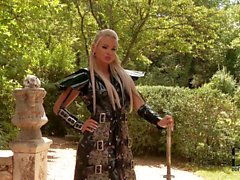 Samurai babe Ashley Bulgari