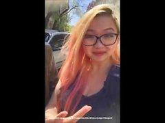 Asian British schoolgirl @HSugarcookie tours Budapest Hungary