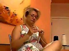 Belle e affascinanti Latina bbc63 nonnina Inculata con