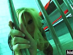 Prisoner Brooke Banner got bored quickly