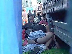 Snooper Checa - Sexo público durante el concierto