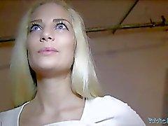 Общественного агентов бед Блондин Бейб Creampie ( HUUU )