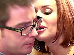 Mean mom Veronica Avluv fucks her daughter's man