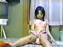 Fille asiatique Pris masturber par un espion cames