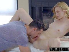 NubileFilms - cogida caliente con la muchacha rubia