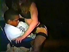 Pompino interrazziale da babe femdom