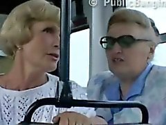 Public sex in the city bus