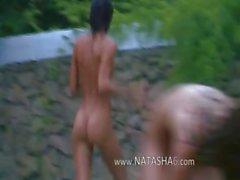 Rus coedsbahçede su sporları