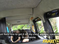 Fake Taxi Brunette does anal down to the balls