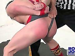 Alexander spanks away Doug's cocky attitude, leaving him red