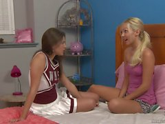 Shyla Jennings and Aaliyah Love at Cheer Camp