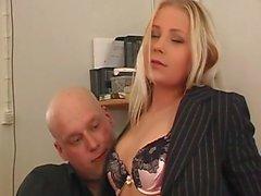 anal avec une blonde