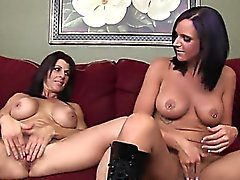 Brutal vagina fisting of two women