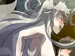 Hentai catgirl gets fucked and cums