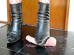 sadobitch - stomp and destroy her balls on videos-4-sale