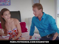 FamilyStrokes - Slutty sosiaalisen median Teen Fucked