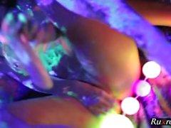 Lesbian Gangbang Sex Toy Play Porn HD