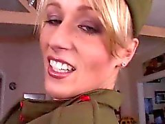 militare chick ass scopare