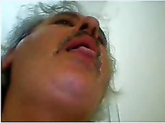 hot turkish daddy cum on cam
