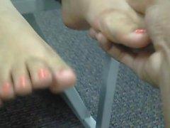 i piedi latina adolescente