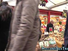 Real Dutch huora ratsastaa