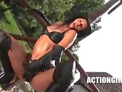 Susana Spears : Western Strip ACTIONGIRLS