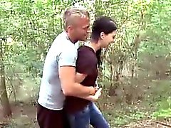 Olga gives great head to her boyfriend whilst he gets all