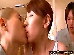 Part4 alma Misa Yuki gerçek asyalı ev kadını