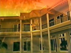 Balcón follando en el amanecer