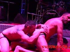 Turbo León y Manu Perro Nash suave porno gay en el SEM 2016