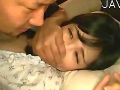 La moglie sbattevano mentre mio marito è addormentato