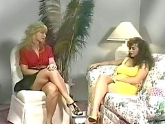 Nina Hartley Y de Keisha de Edwards clásico de