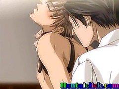 Tied up Hentai porno ragazzo gay ottiene fottuto hardcore