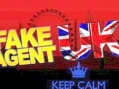 FakeAgentUK Creampie casting for part time lap dancer