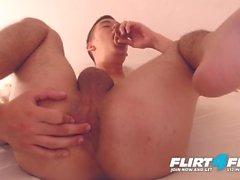 Lilo Smith Flirt4Free - Monster Cock Twink Dildot Hänen tiukka kusipää